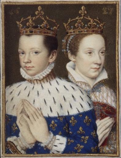 Мария Стюарт с мужем.