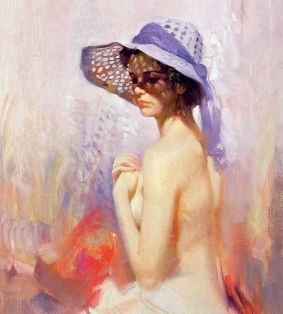 Портретная живопись от Пино Даени.
